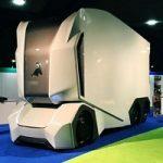 کامیون های آینده که نه کابین دارد و نه راننده