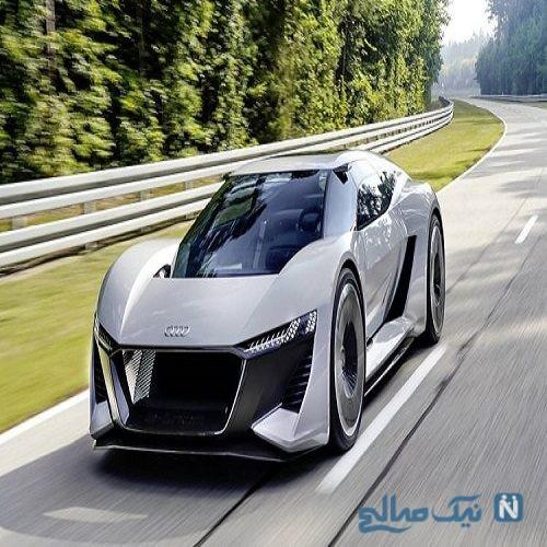 عرضه خودروی برقی آئودی P18 E-Tron به صورت تولید محدود