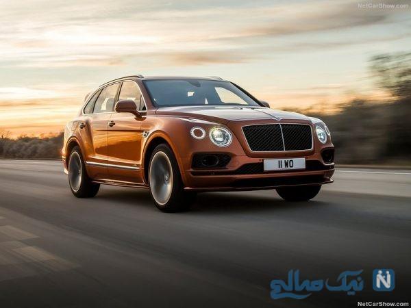 معرفی بنتلی بنتایگا اسپید سریع ترین SUV جهان