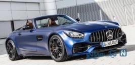معرفی مرسدس بنز AMG GT C رودستر ۲۰۲۰