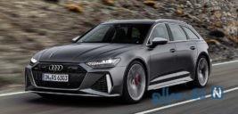 آئودی RS6 آوانت نسل جدید رونمایی شد