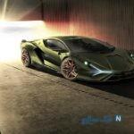 لامبورگینی سیان سریعترین خودروی هیبریدی رونمایی شد
