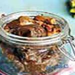 ترشی بادمجان شکم پر با تمبرهندی