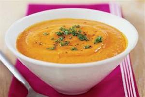 سوپ فلفل دلمه ای مخصوص کسانی که آنفلوانزا دارند