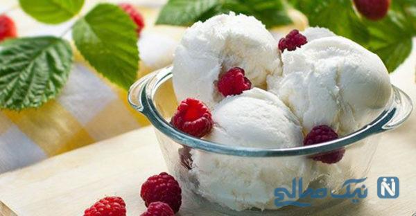 روش تهیه بستنی وانیلی