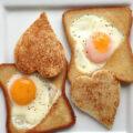 نان تست تخم مرغی