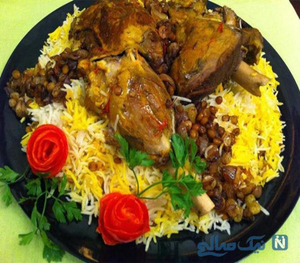 غذای عربی مجبوس