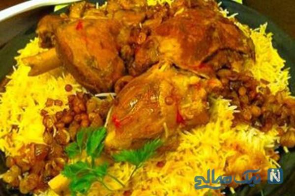 طرز تهیه غذای عربی « مجبوس »