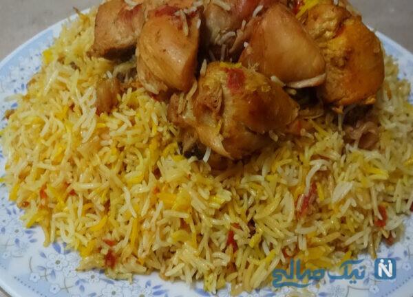 مرغ بریانی هندی