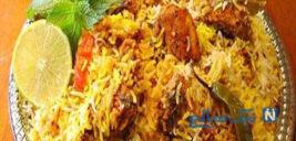 برنج با مرغ بریانی هندی