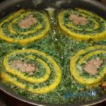 طرز تهیه رولت کوکو سبزی فوق العاده شیک و مجلسی/تصویری