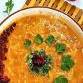 سوپ جو و زرشک یه سوپ سریع و فوق العاده خوشمزه