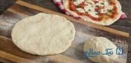 طرز تهیه ی خمیر پیتزا بسیار خوش طعم در منزل