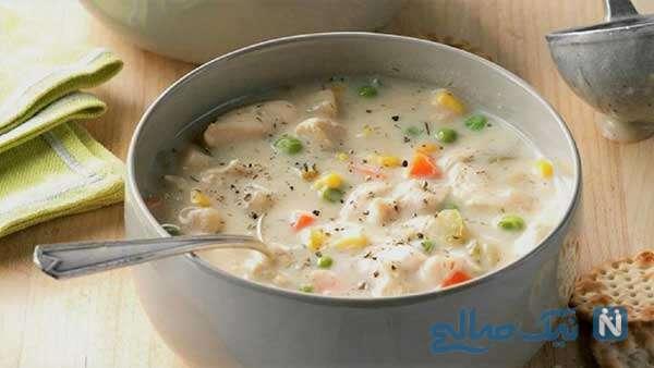 یه سوپ عالی و فوری برای افراد مریض