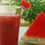 تهیه اسموتی هندوانه ،نوشیدنی زیبا و سریع