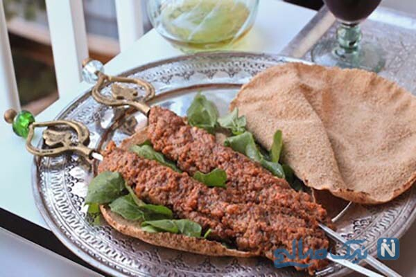 غذای لبنانی بسیار خوشمزه در نیم ساعت!