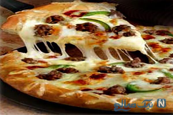 آموزش پخت اصولی پیتزا مخصوص