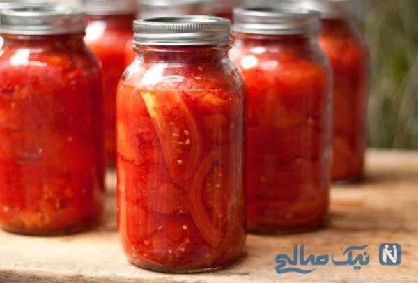 شوری گوجه فرنگی