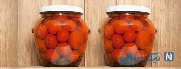 شوری گوجه فرنگی بسیار لذیذ و آسان!