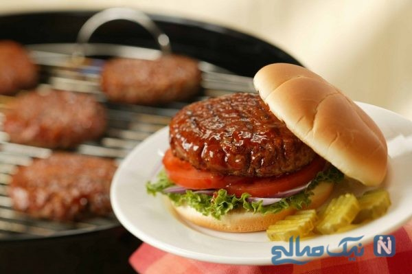 همبرگر سویا