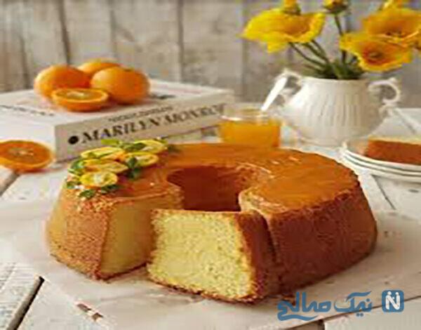 کیک پرتقالی ساده