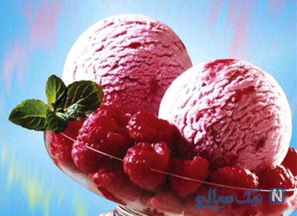 بستنی رژیمی با ماست, بسیار لذیذ و کم کالری+عکس