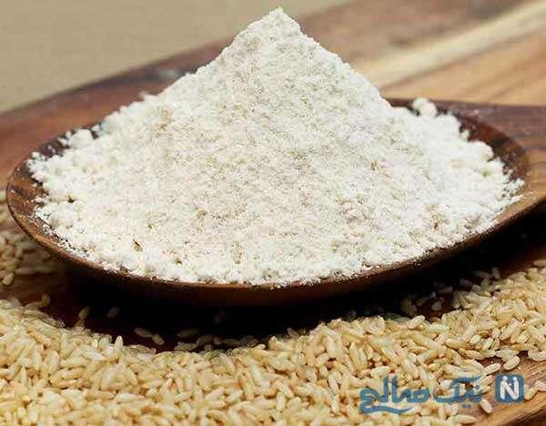 خواص آرد برنج
