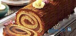 طرز تهیه نان رولت شکلاتی فوق العاده
