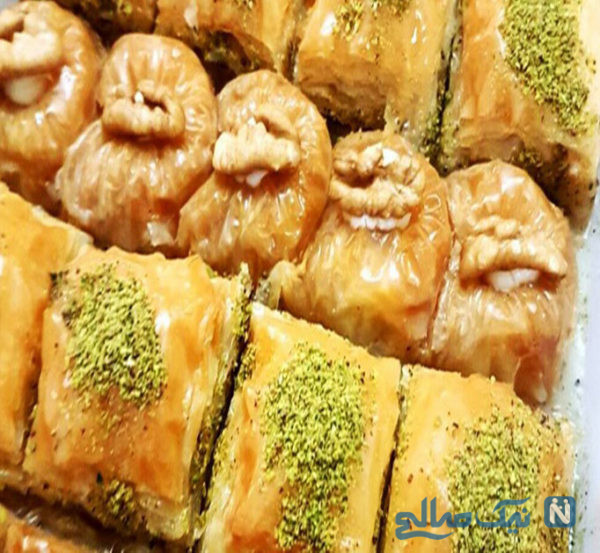 باقلوا با خمیر یوفکا