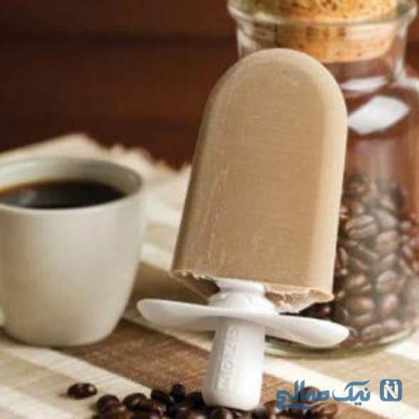 بستنی چوبی خونگی اسپرسو تو این هوا میچسبه! +عکس
