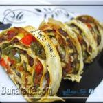 طرز تهیه یک رولت خوشمزه و مهمان پسند با خمیر یوفکا! +عکس