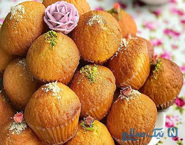 کیک یزدی کشمشی