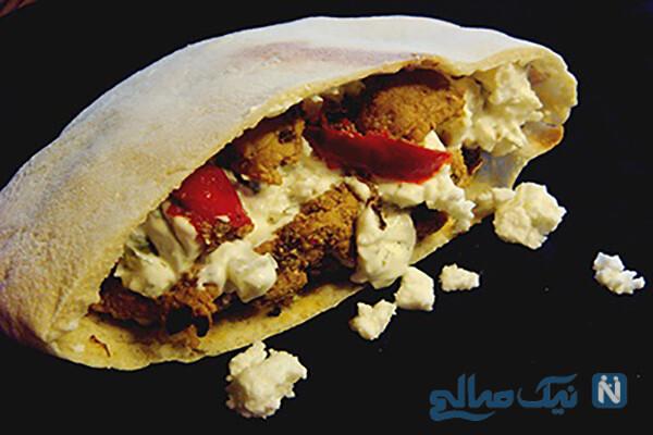 دستور ساده برای تهیه نان پیتای لبنانی!