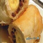 دسرفوری و مقوی برای افطار , رول موز و خرما با خمیر یوفکا