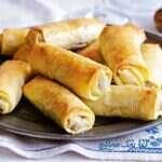 رولت لذیذ گوشت با خمیر یوفکا