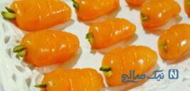 سفره های افطارتون رو با حلوای هویج مینیاتوری زیباتر کنید!