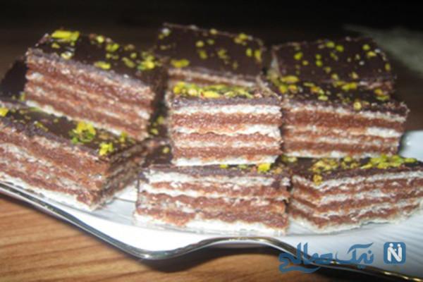 طرز تهیه شیرینی لذیذ میکادو