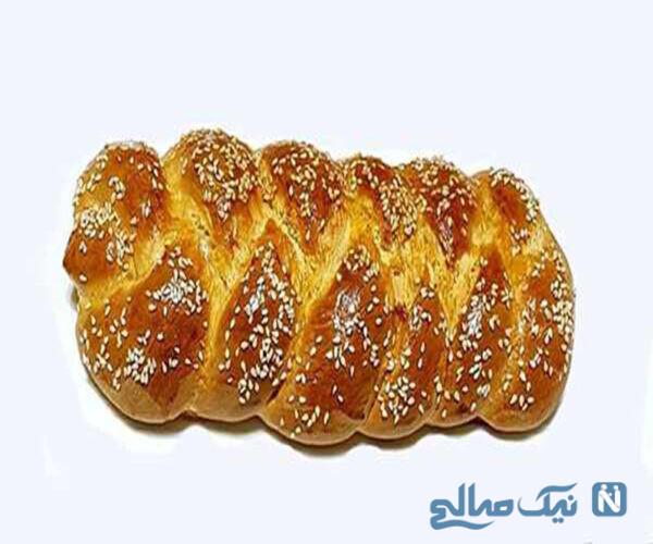 طرز تهیه نان شیرمال شیرین