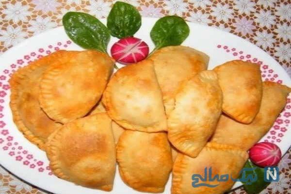 پیراشکی مخصوص با خمیر یوفکا!
