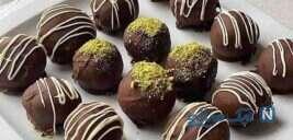 ترافل شکلاتی , دسری ساده و جذاب!