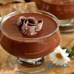 دسر خوشمزه و شادی بخش کاکائو!
