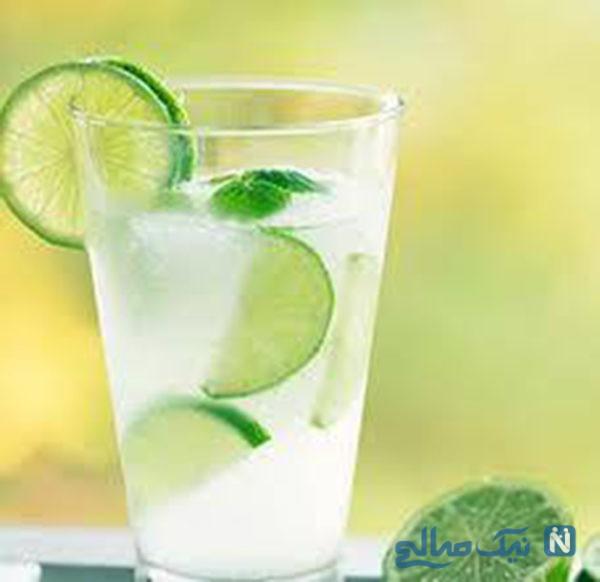 لیموناد نعنایی ساده