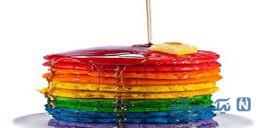 پنکیک رنگین کمانی خوشمزه مخصوص کودکان کم اشتها!