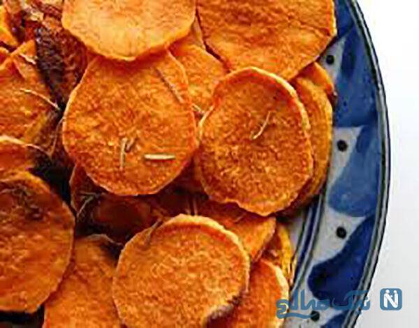 چیپس هویج