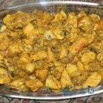 خوراک فیله مرغ با قارچ ، ساده اما بسیار لذیذ!