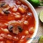 طرز تهیه خوراک لوبیا به سبک مجلسی با سس هفت لایه!