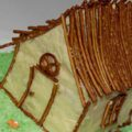 کلبه زیبا و خوشمزه با سالاد الویه!