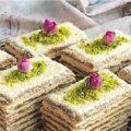 شیرینی هفت لایه خوشگل و خوشمزه!