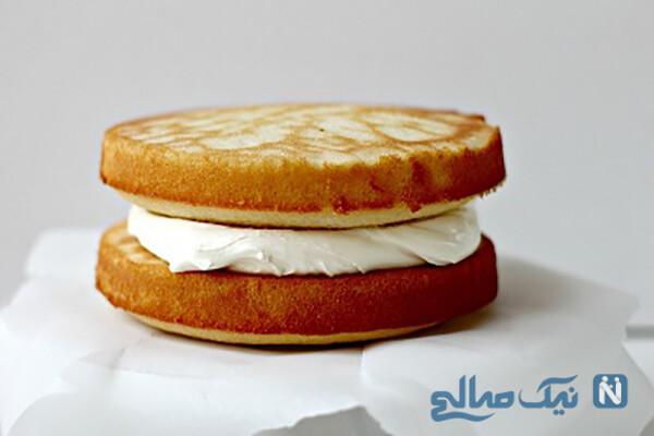 طرز تهیه کیک شیر عسلی بسیار آسان!