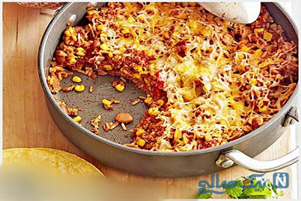 طرز تهیه یک غذای سریع و ساده مکزیکی!